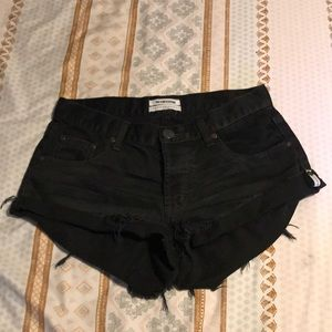 Black One Teaspoon Shorts
